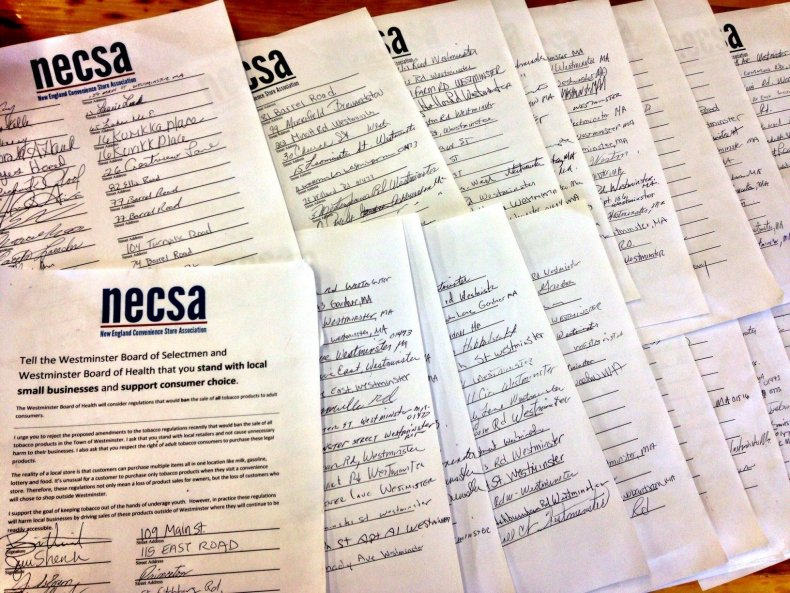 11-13-14 Westminster ban petitions