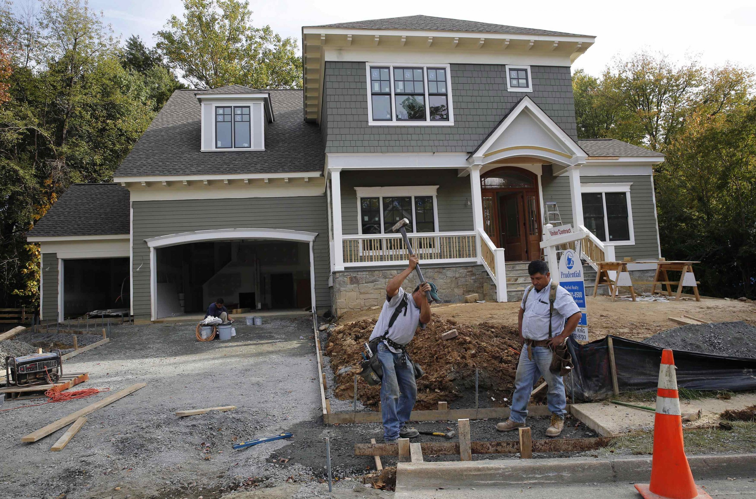 New housing starts