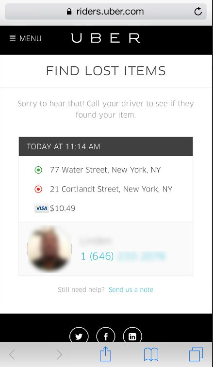 uber drivers have privacy problems too