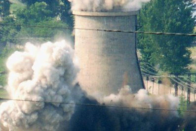 North Korea Nuclear Plant