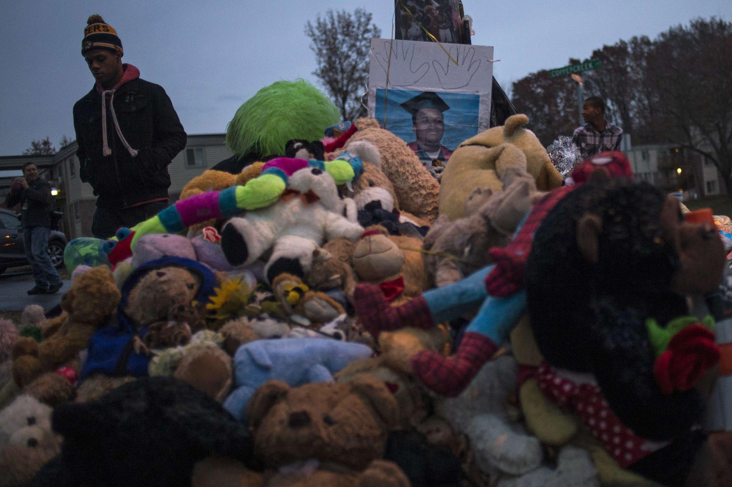 11-23-14 Michael Brown memorial