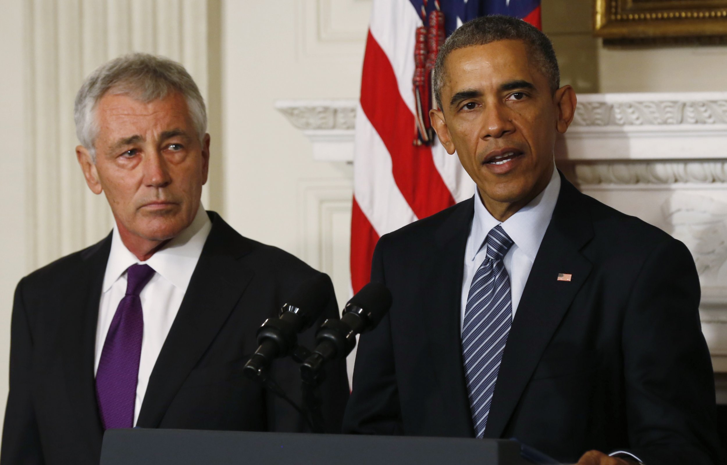 President Obama Announces Resignation of Chuck Hagel