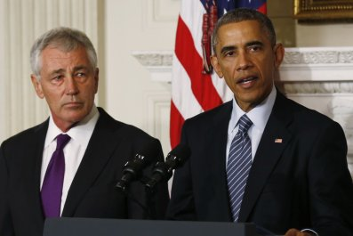 President Obama Announces Resignation of Chuck Hagel