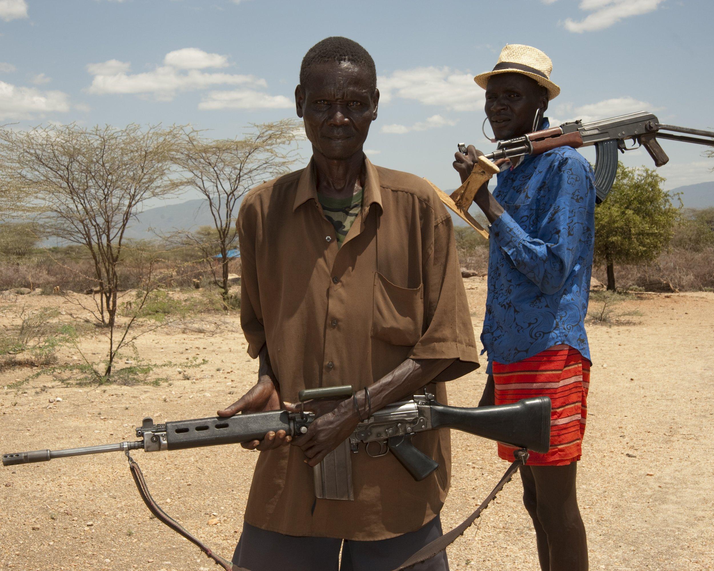 Turkana guns