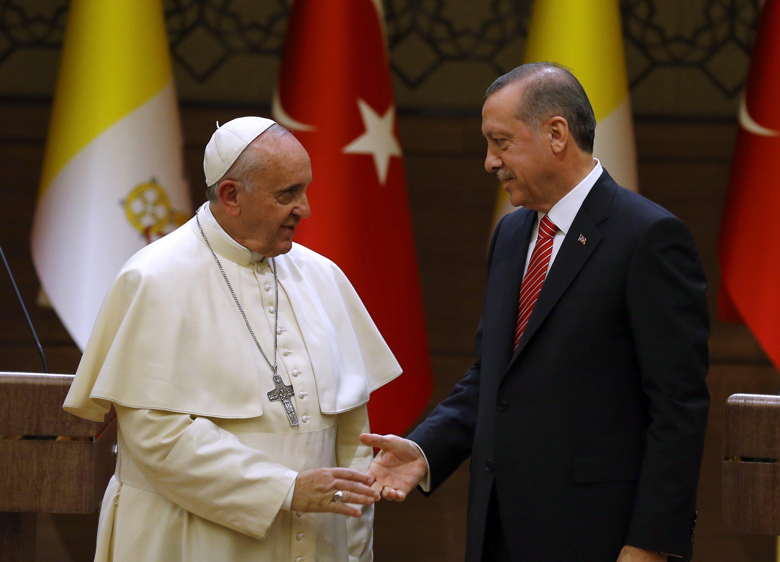 Pope in Turkey