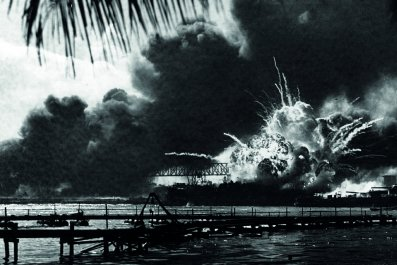 Pearl Harbour is attacked