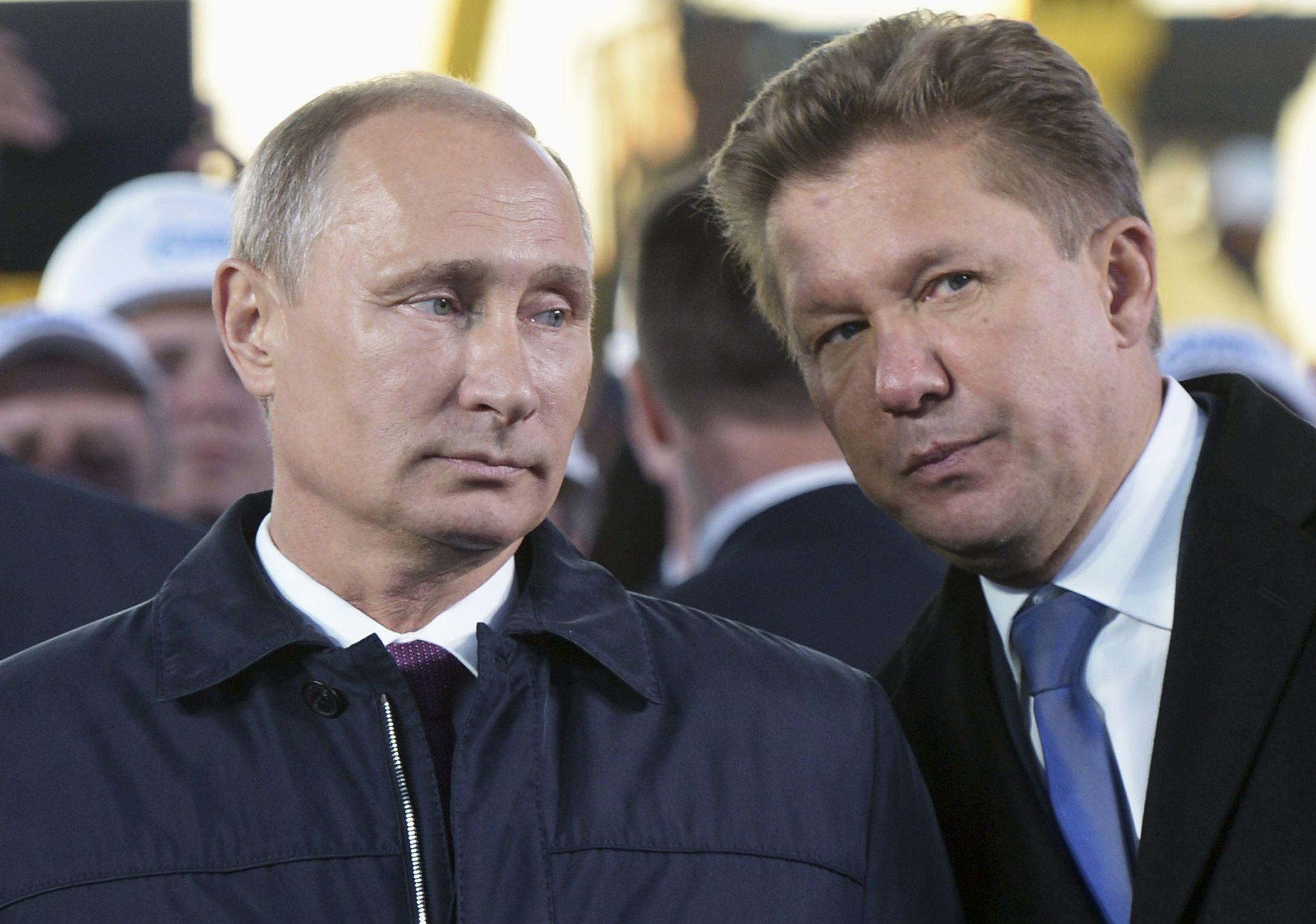 Putin and Miller