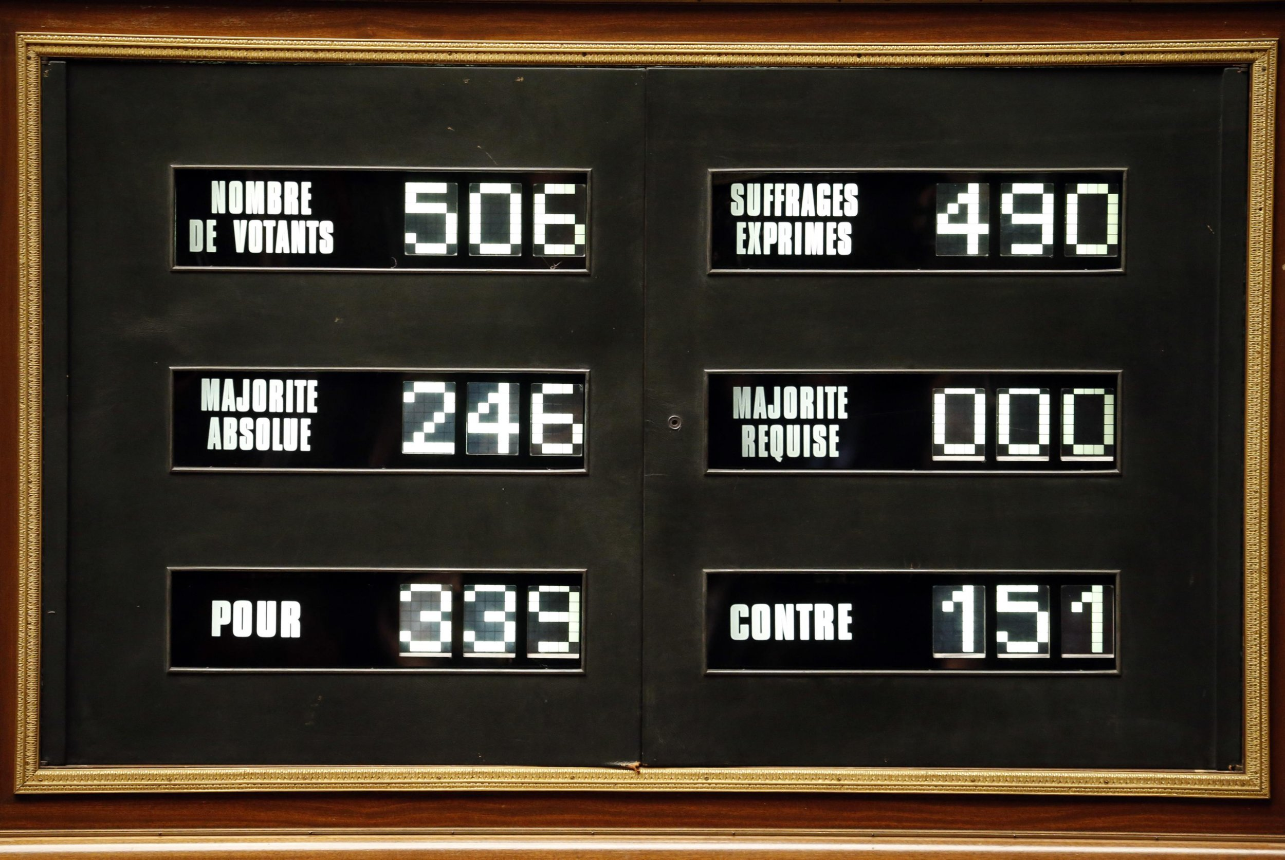 france votes for Palestinian state