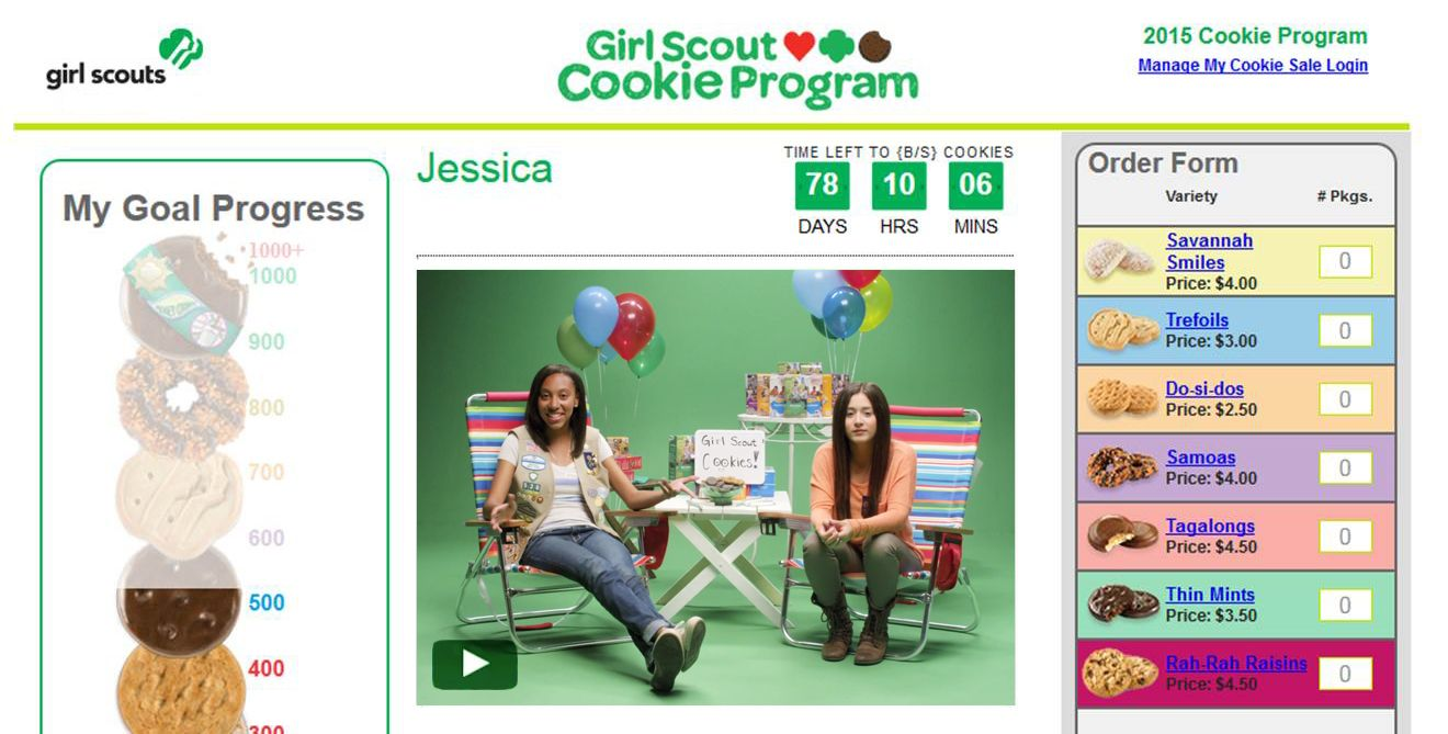 12-2-14 Girl Scouts Web Platform Screenshot