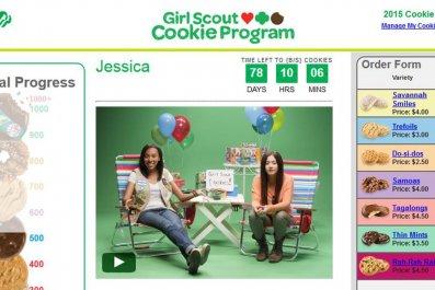 12-2-14 Girl Scouts Web Platform Screenshot