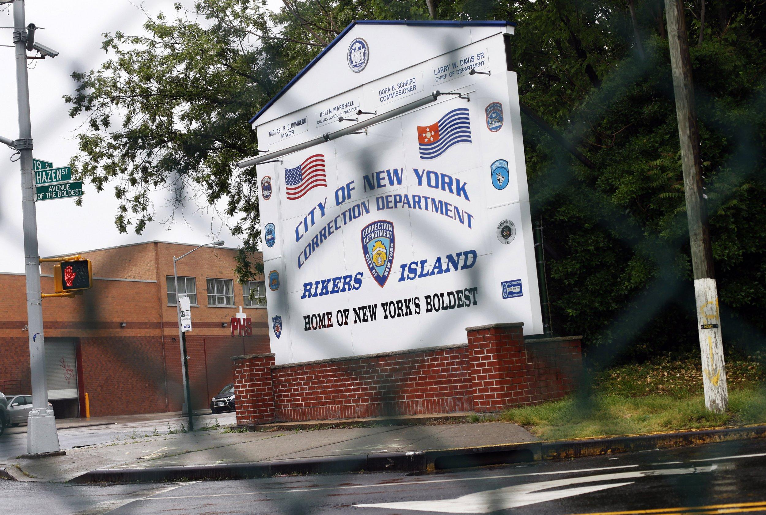 12-4-14 Rikers Island