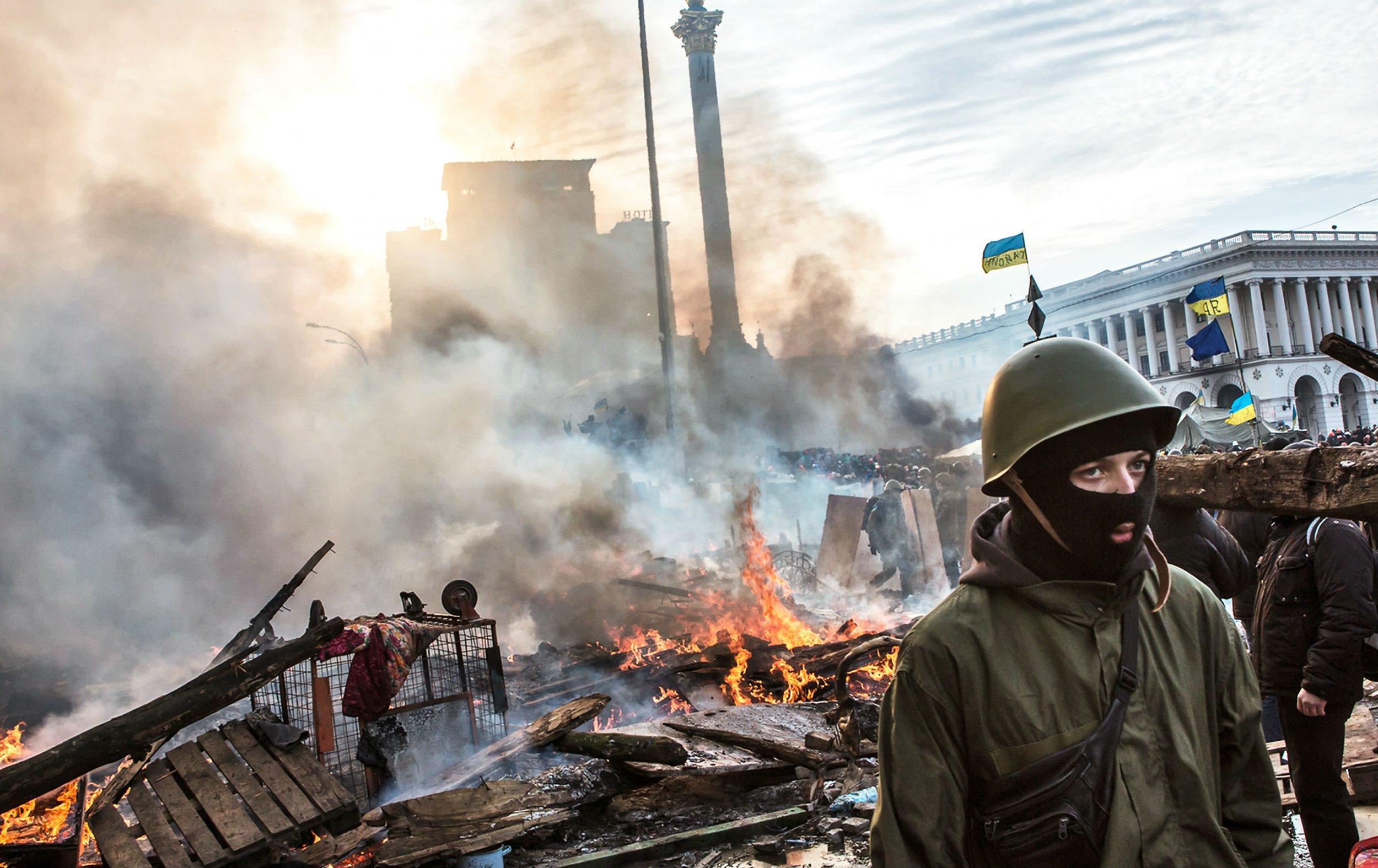 the kid with the kalashnikov isn t happy ukraine s revolution one