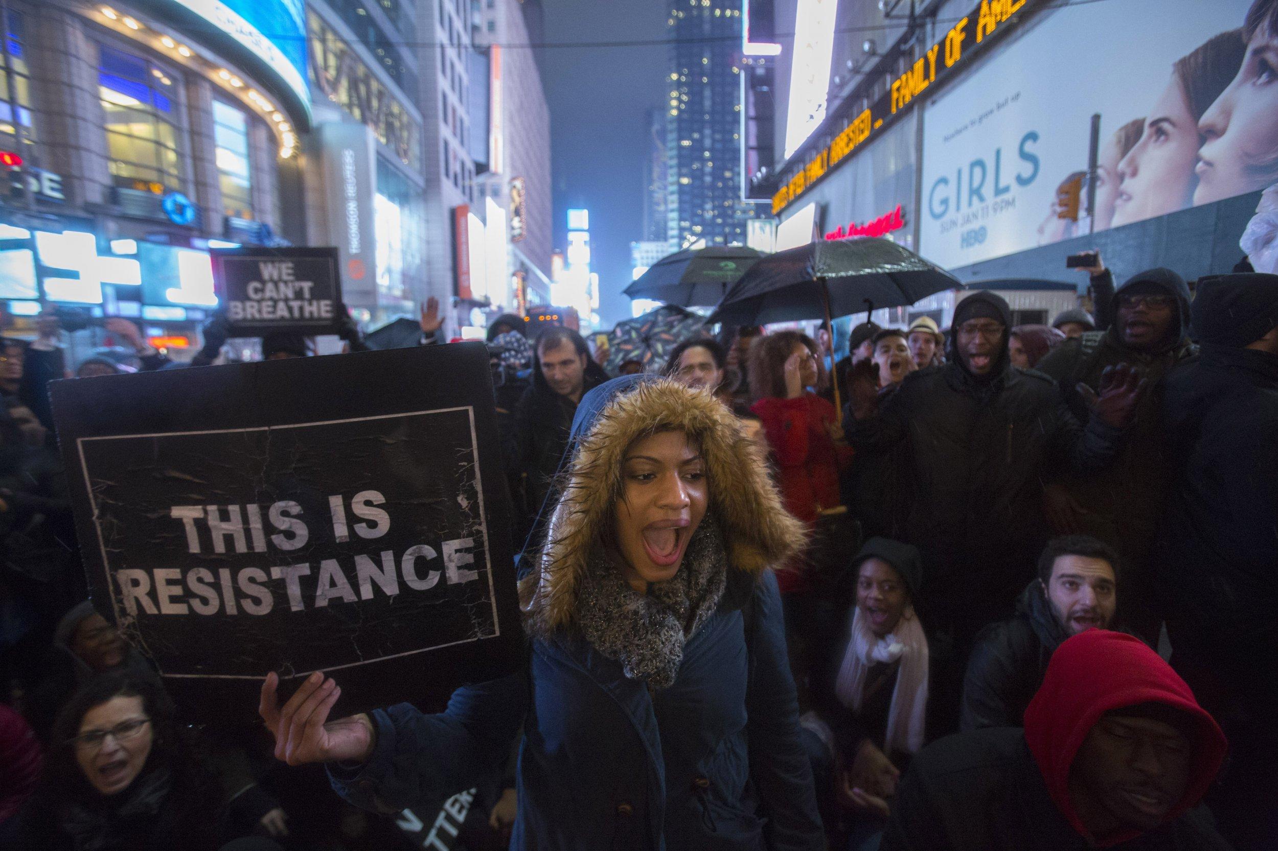 protests ny