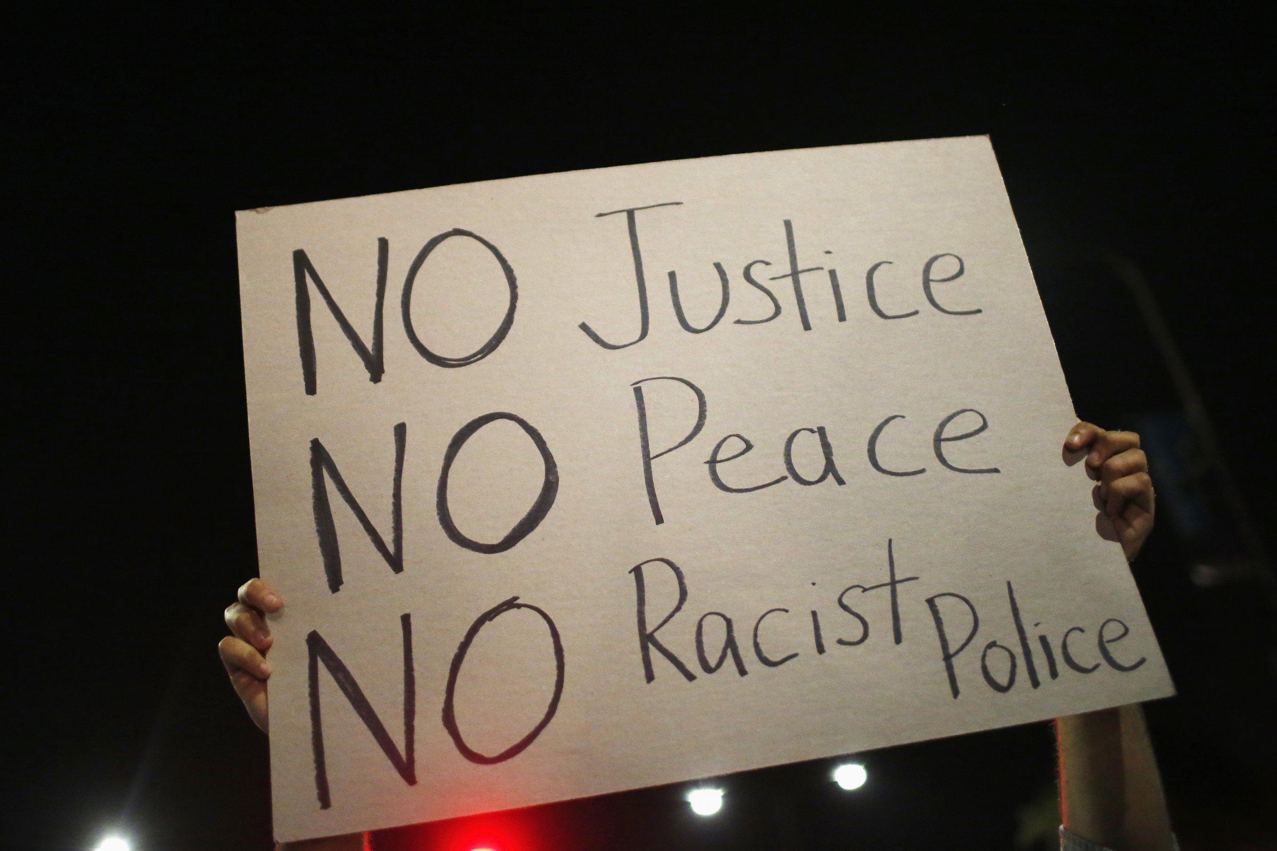 Garner Protest