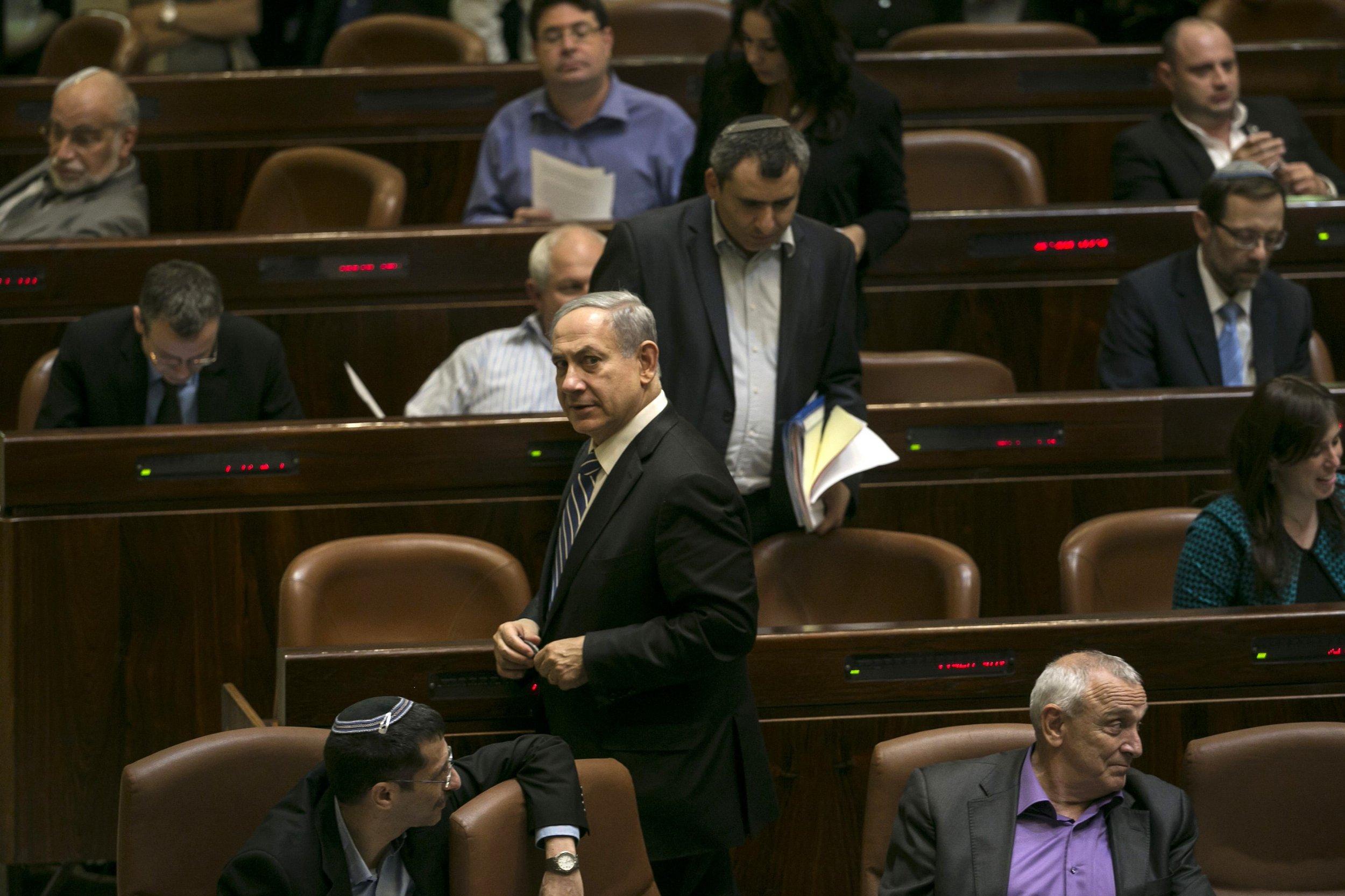 Israeli Knesset dissolves