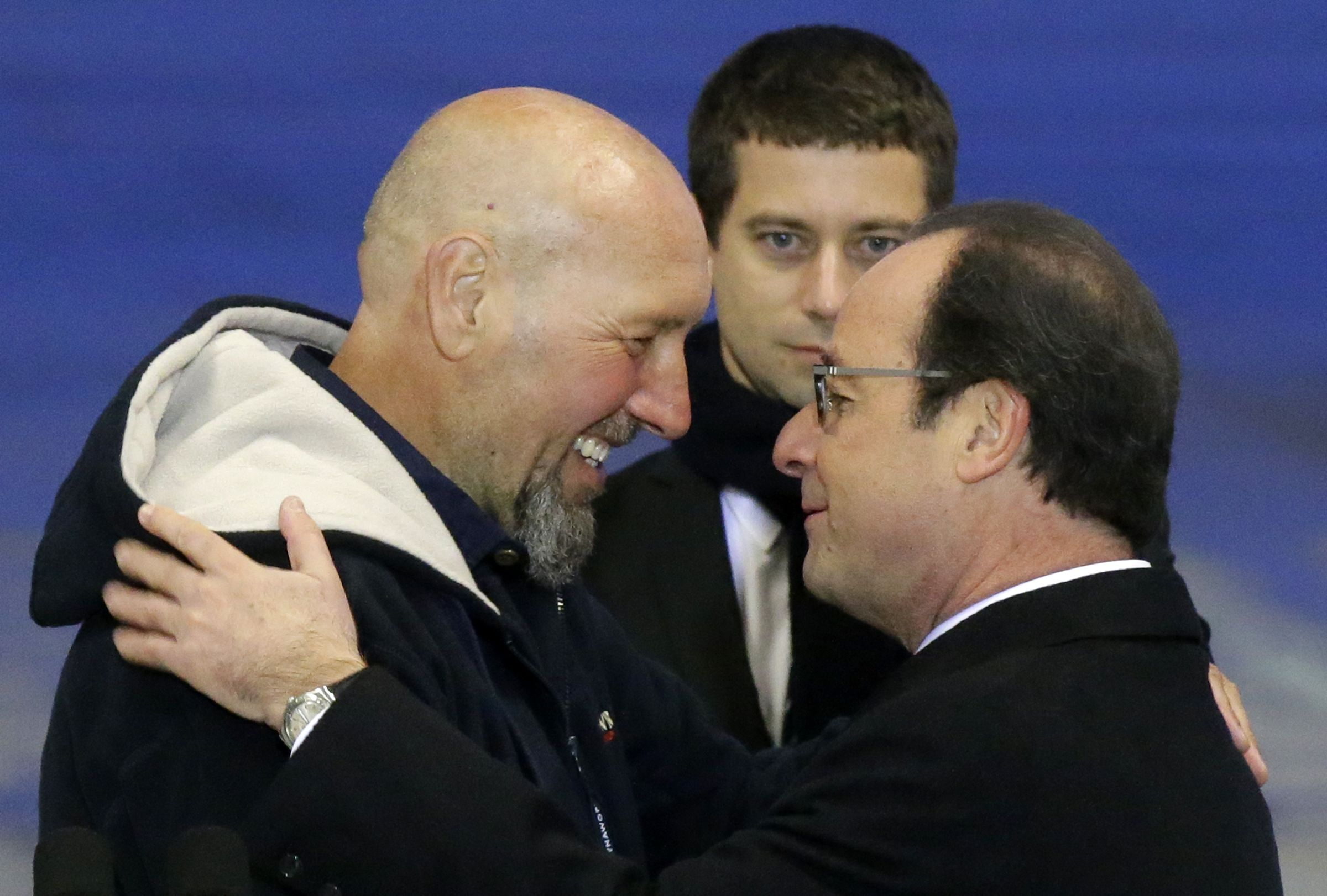 French hostage released