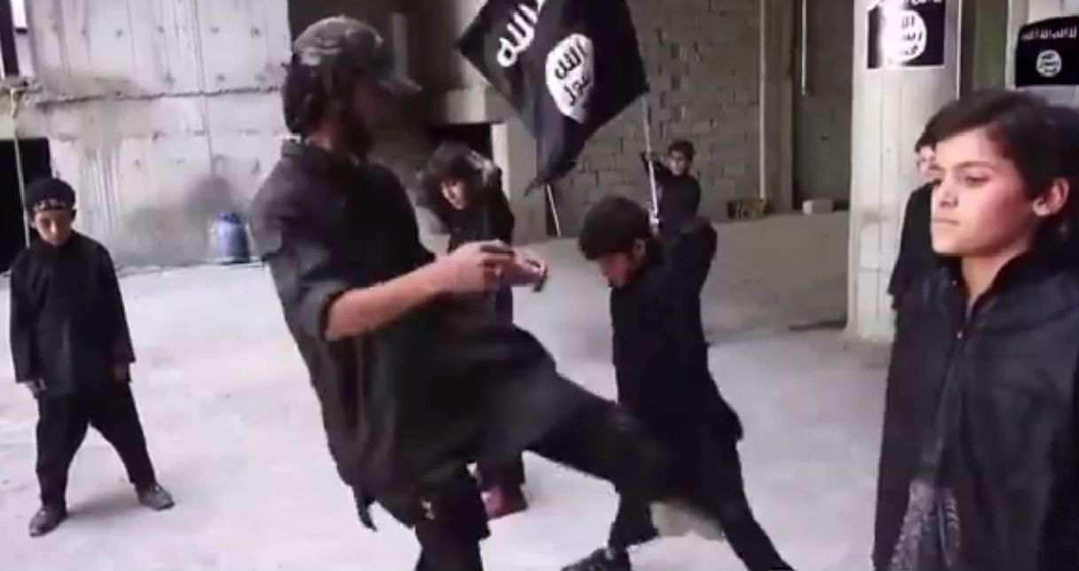 Isis Video Shows Training Of Child Soldiers