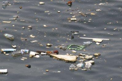 plastic-atop-water