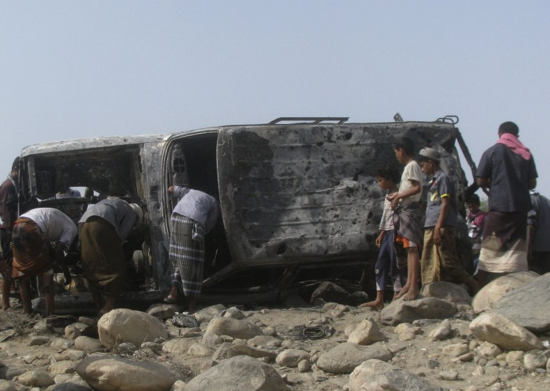 Yemen drone strike