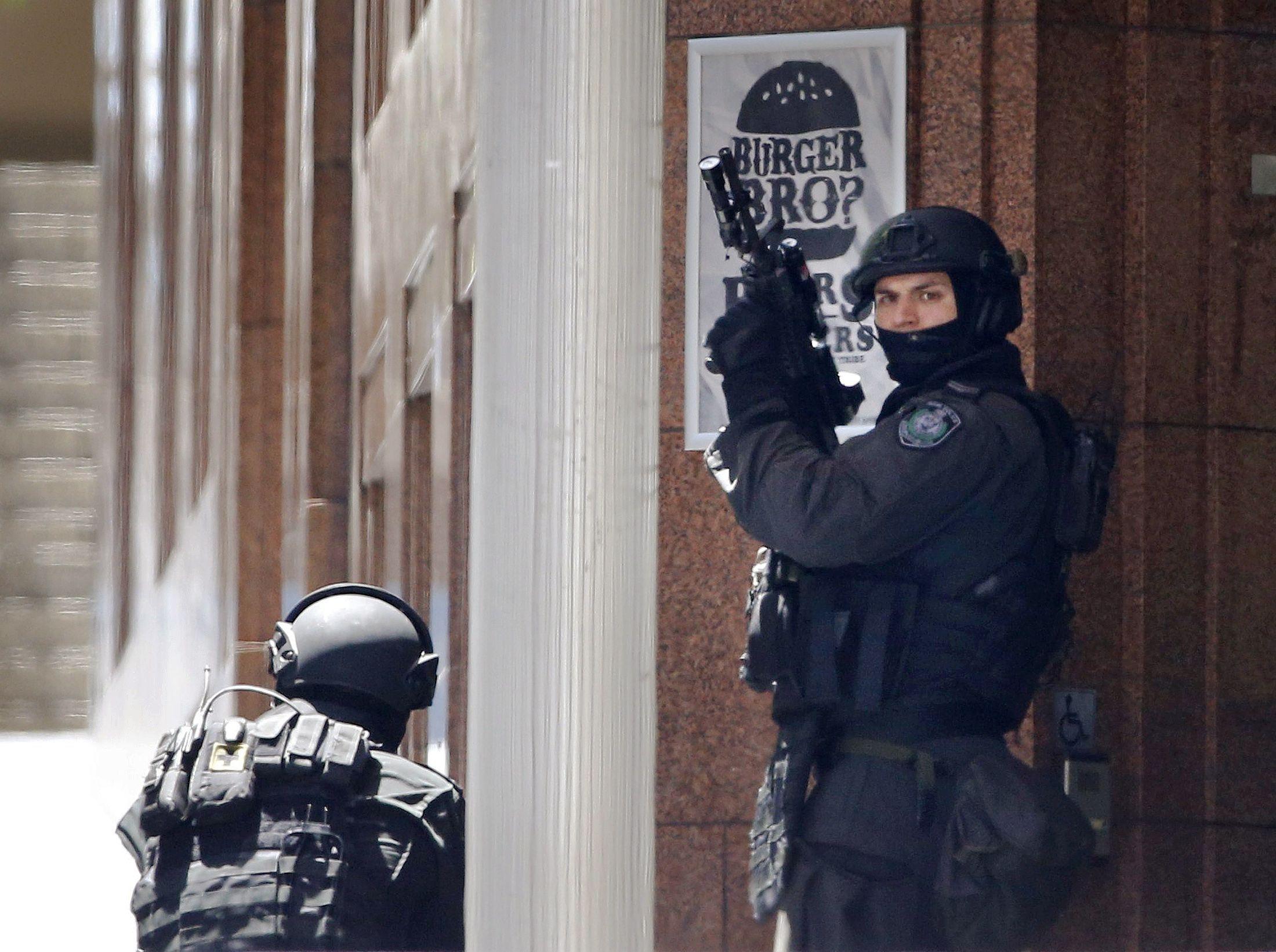 Australian Police at Sydney Siege