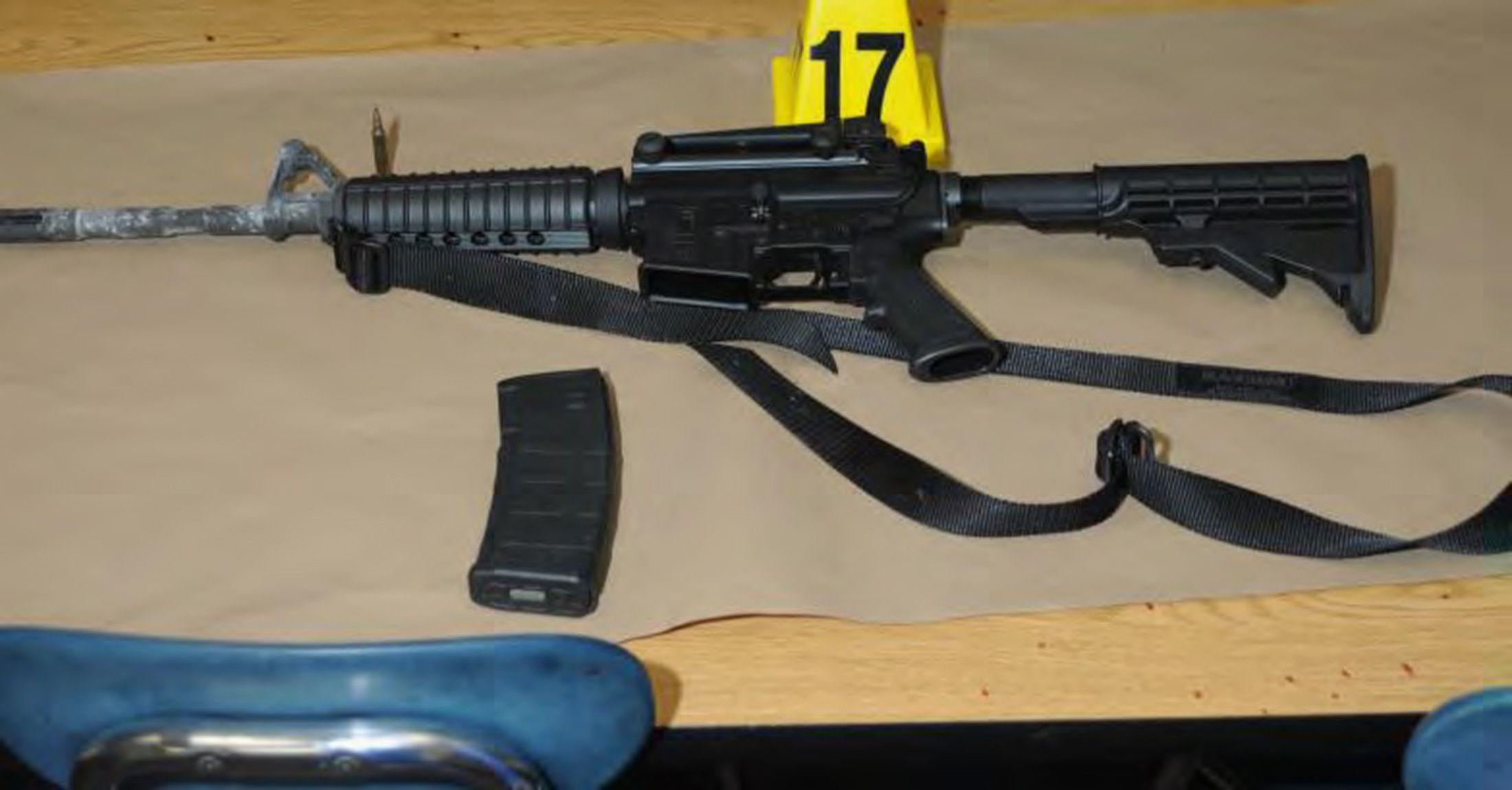 12-15-14 Bushmaster rifle