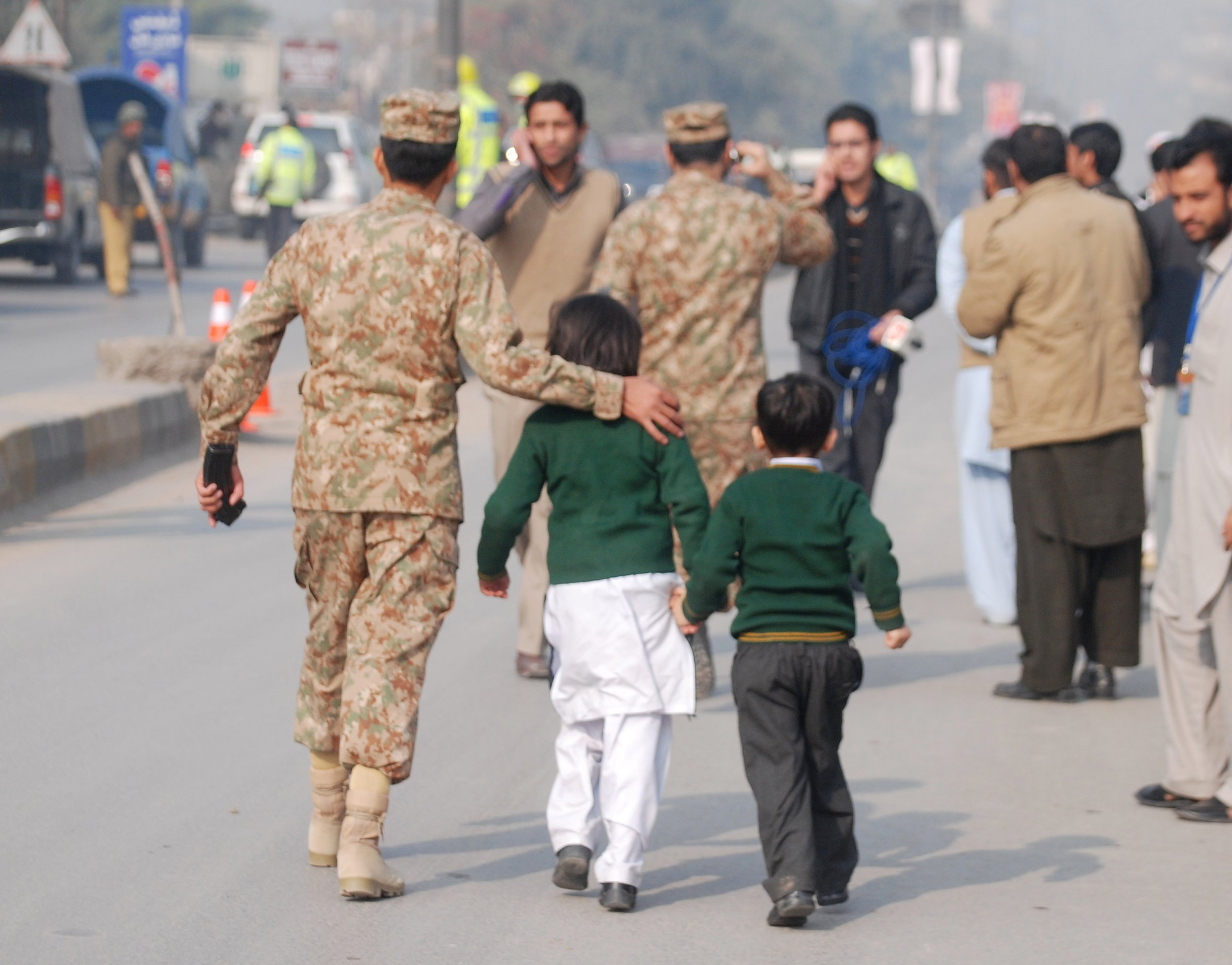 Pakistan school attack