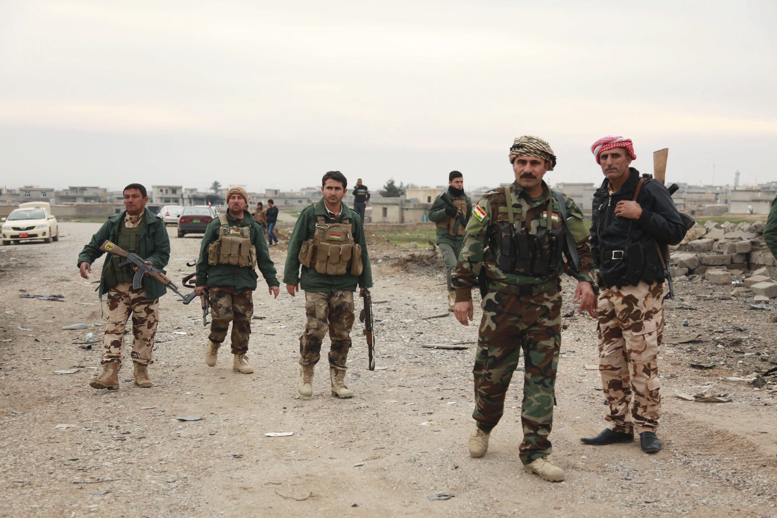 kurds claim gains against islamic state