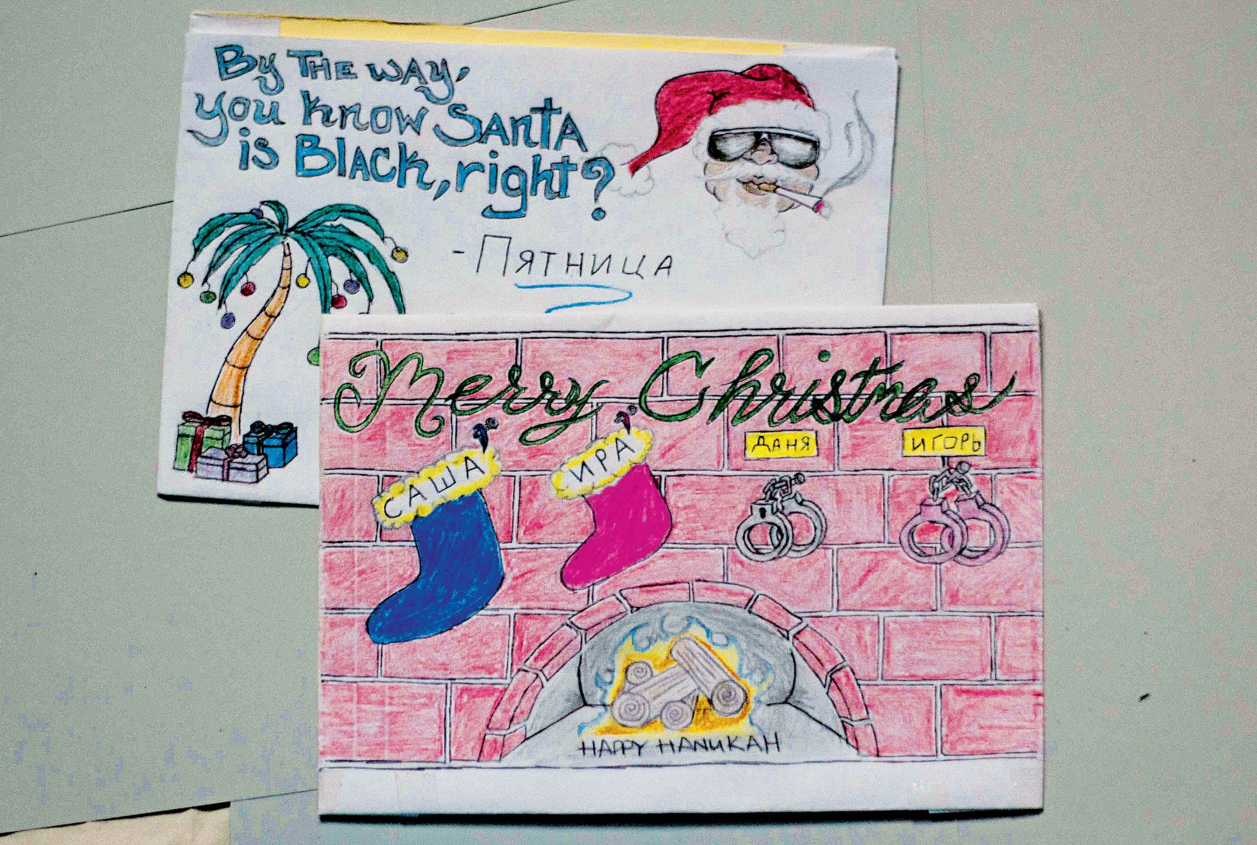 Christmas cards from prison m4hsunfo