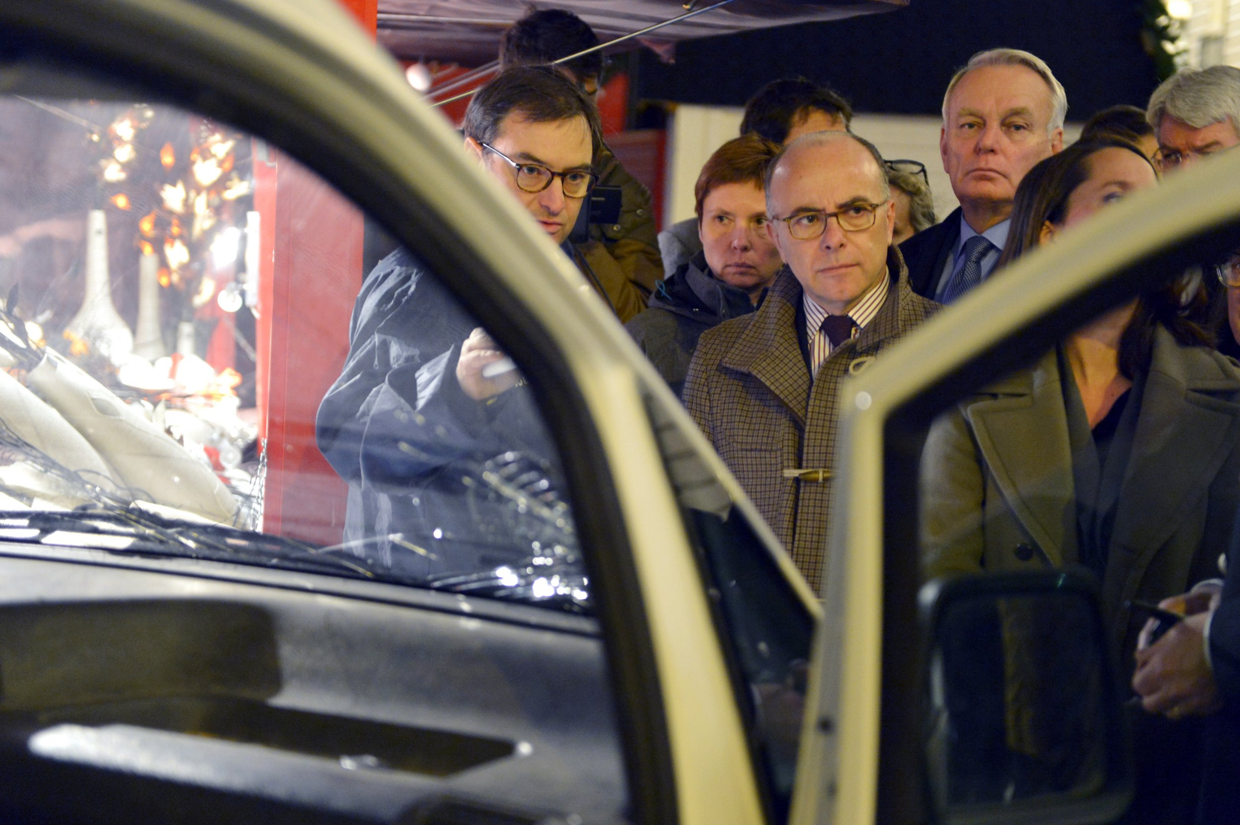 Van attack in France