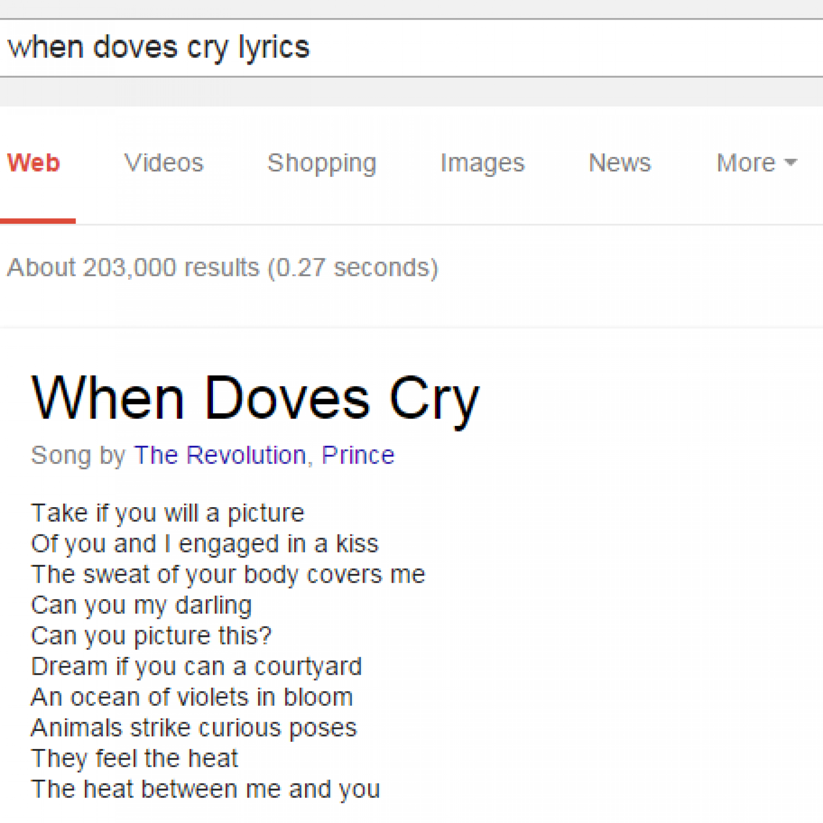 Google just made it much easier to find song lyrics except the ones google doesnt know
