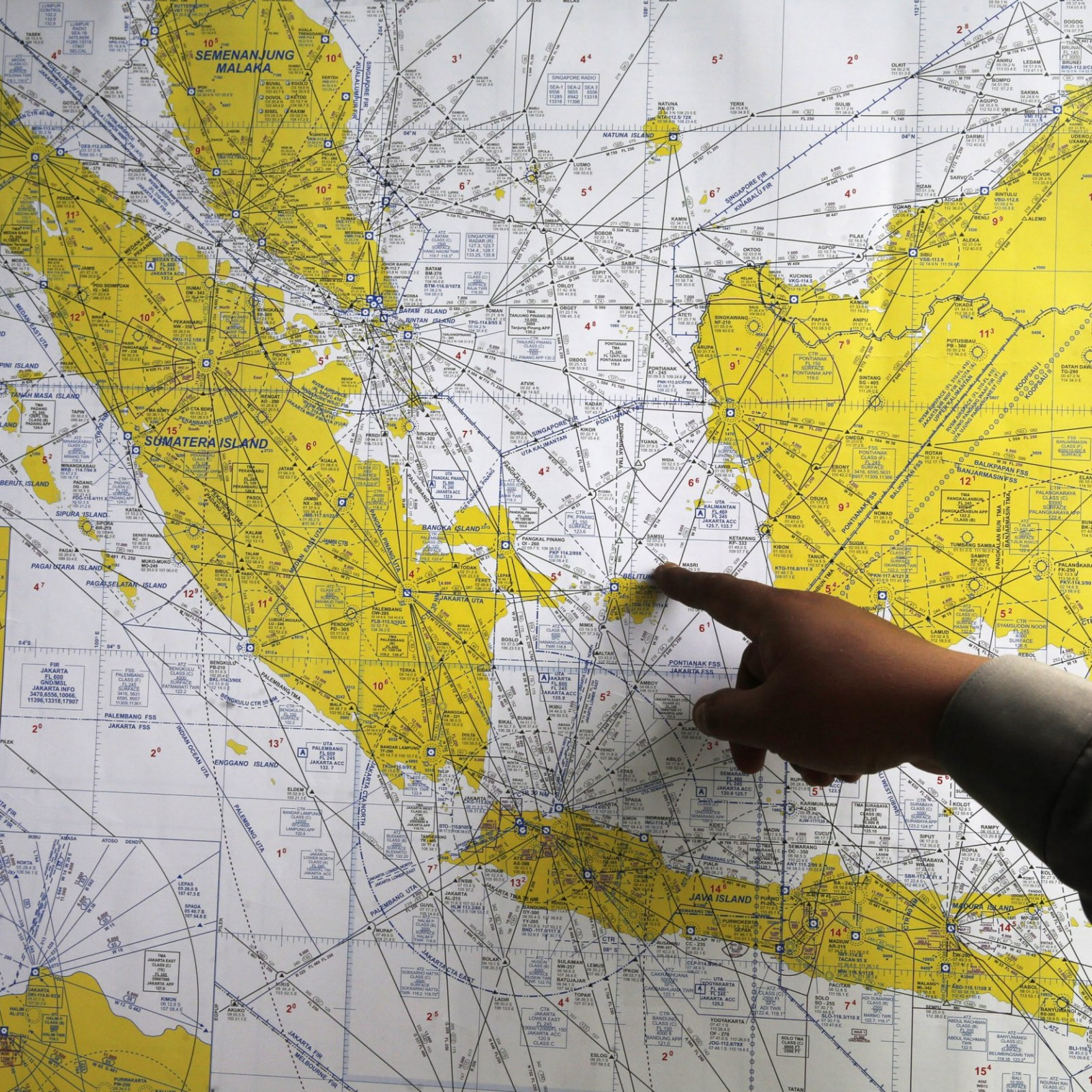 Could Lightning Have Downed Indonesia AirAsia Flight 8501?