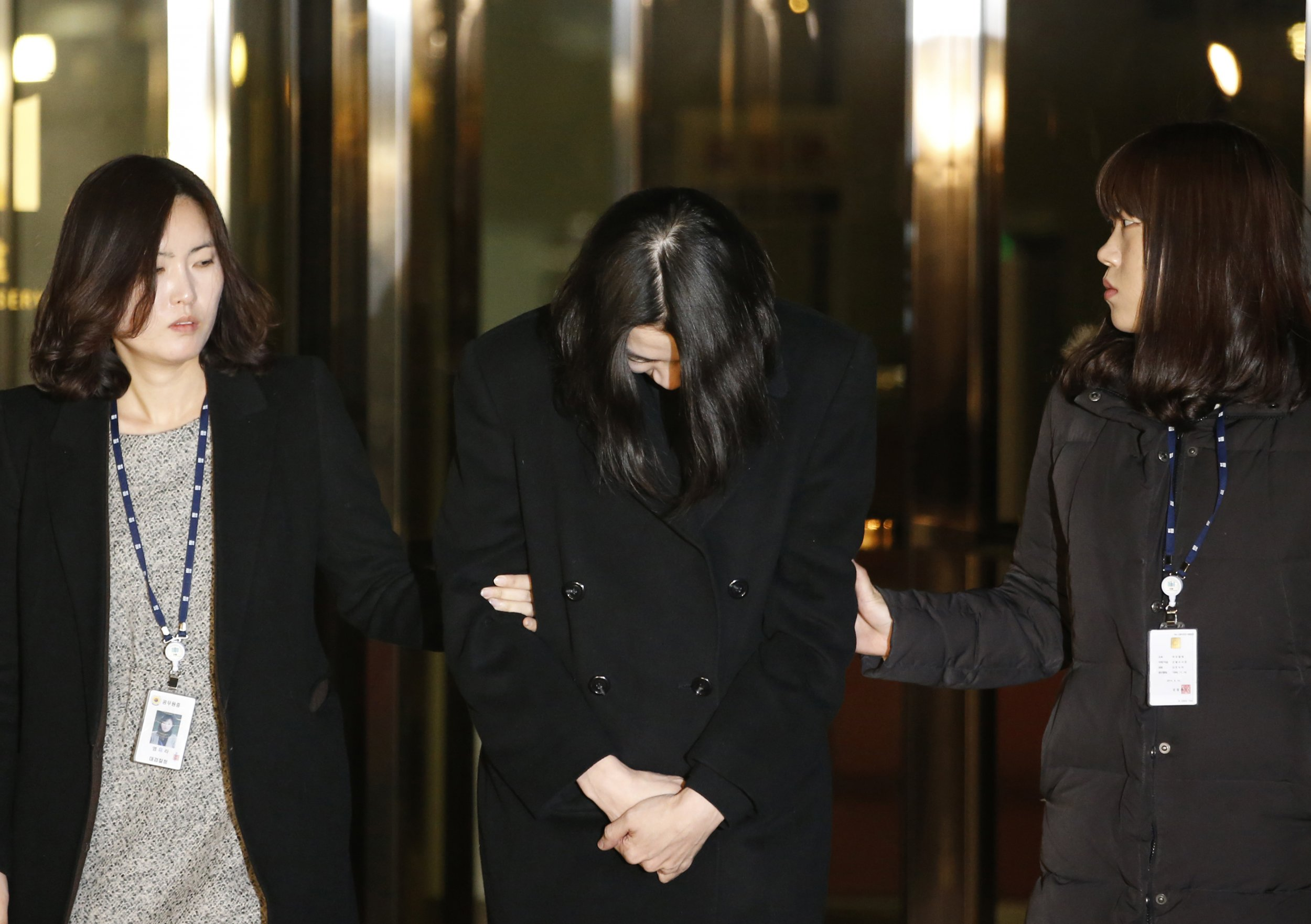 Heather Cho arrested