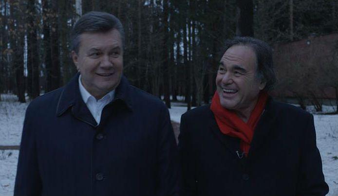 Stone and Yanukovych