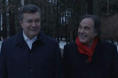Stone and Yanukovych