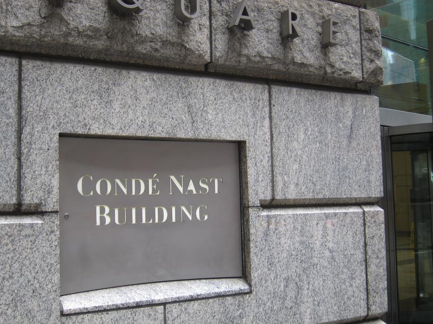 Condé Nast building in Manhattan.