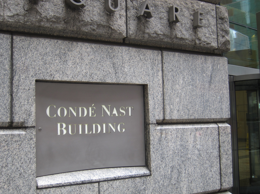 Condé Nast building in Manhattan.