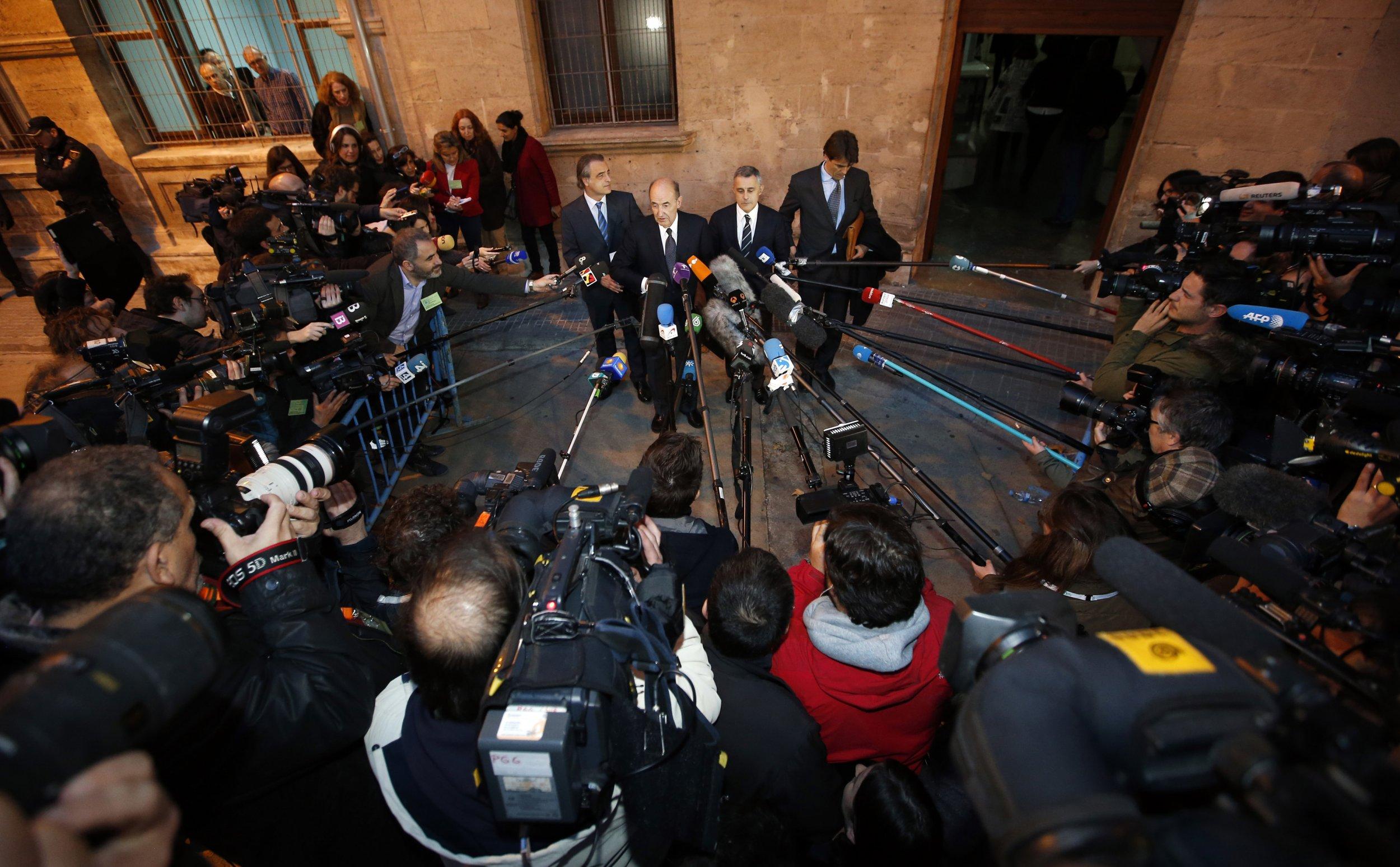 Princess Cristina lawyers