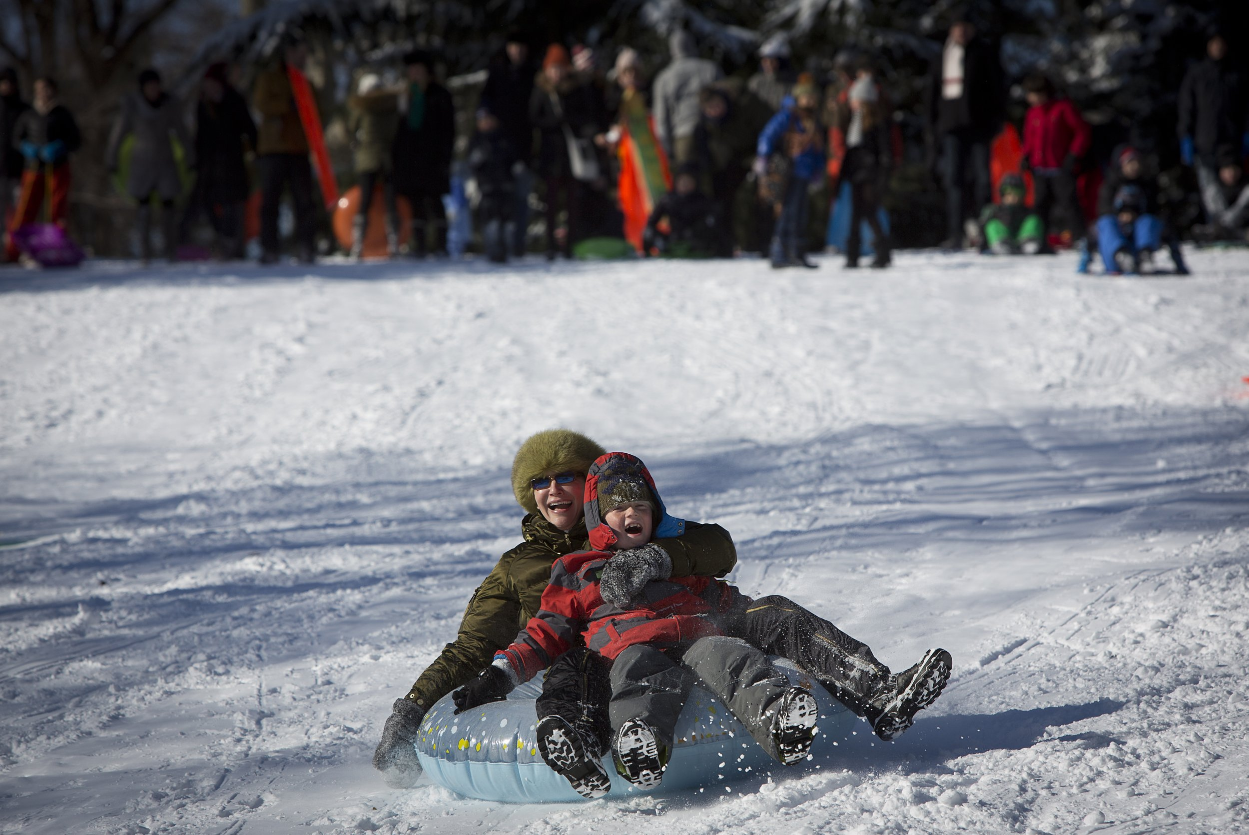 Sledding Ban Coming To A City Near You - The best sledding hills in north america