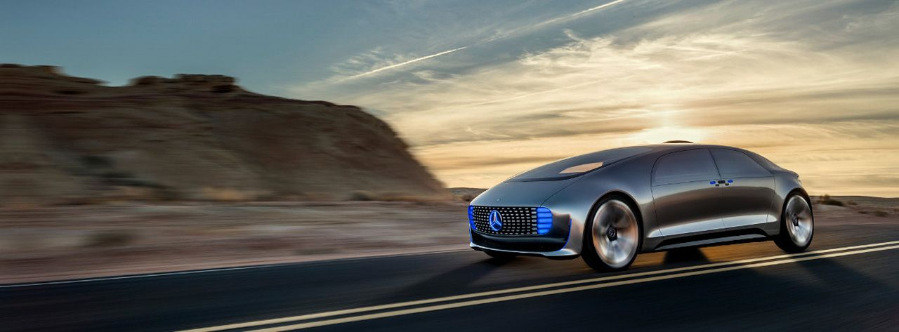 Mercedes Unveils Self Driving Pollution Free Car At Ces 2015