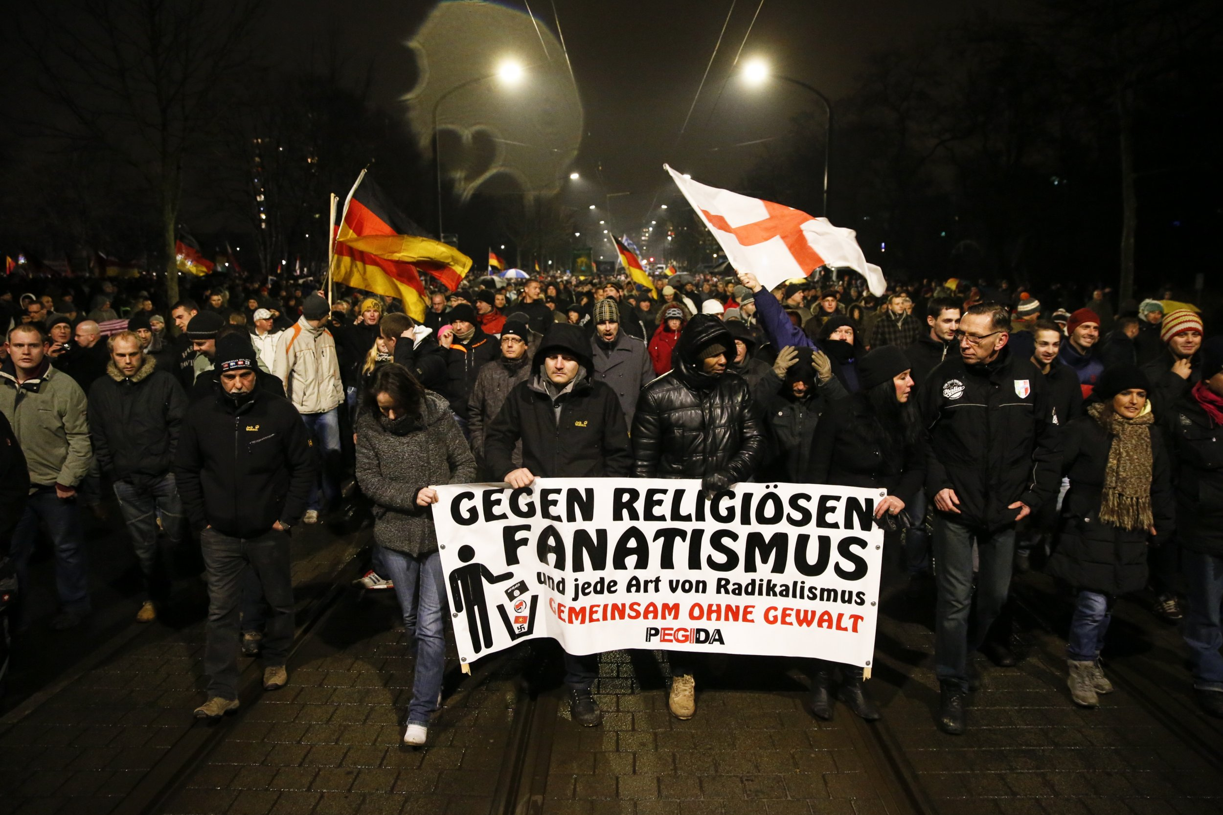 Dresden marches