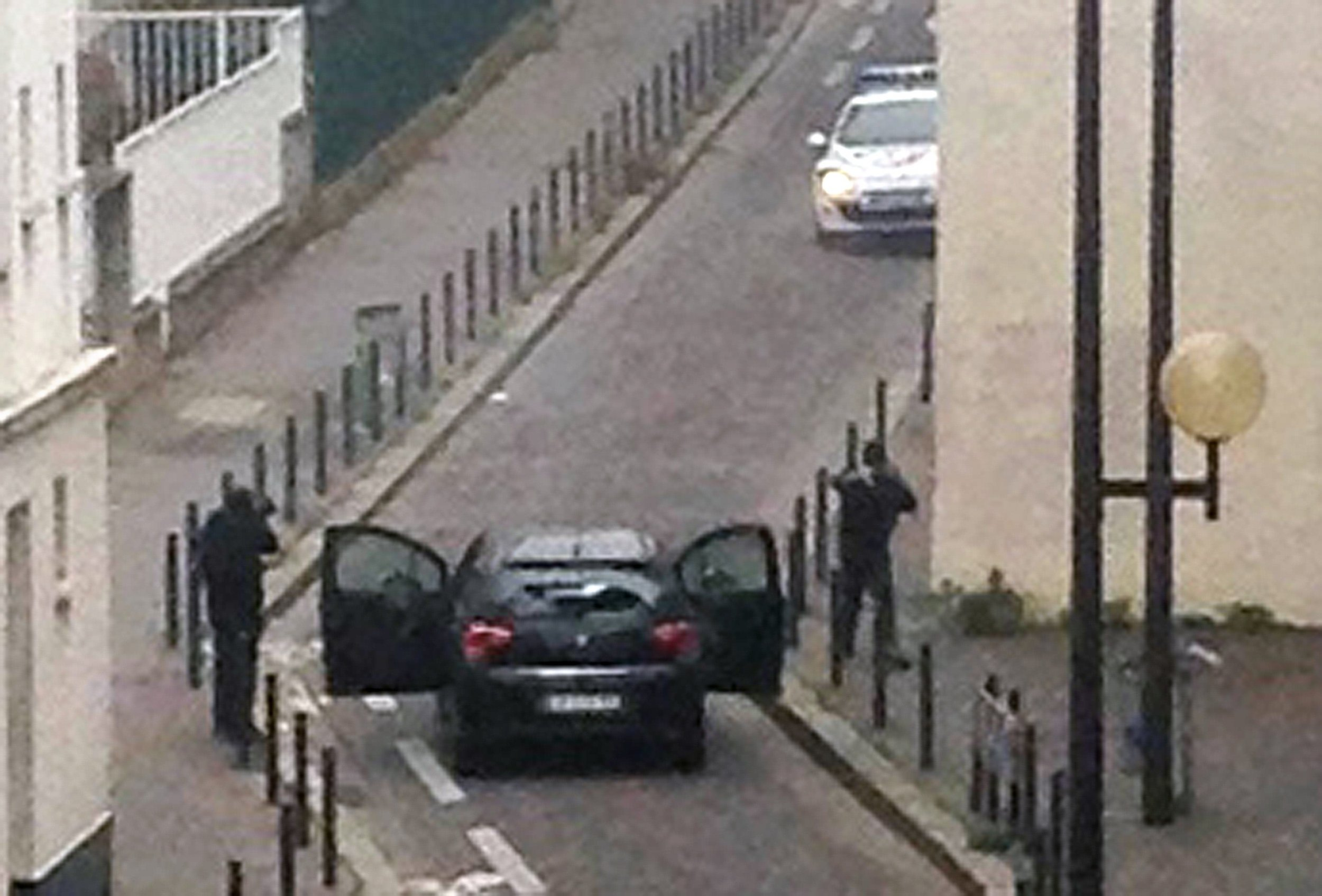 Carnage In The Streets of Paris