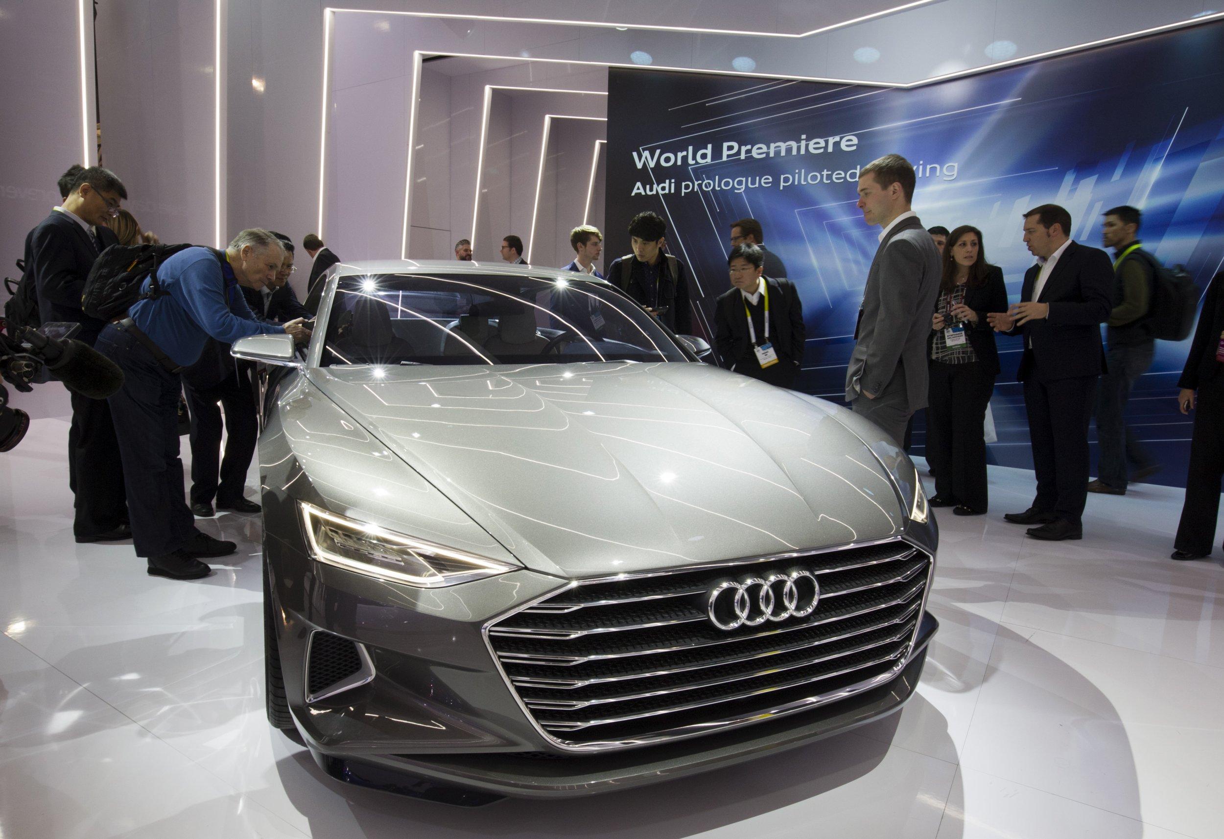 Audis Driverless Car Is Even Cooler Than David Hasselhoff - Audi driverless car