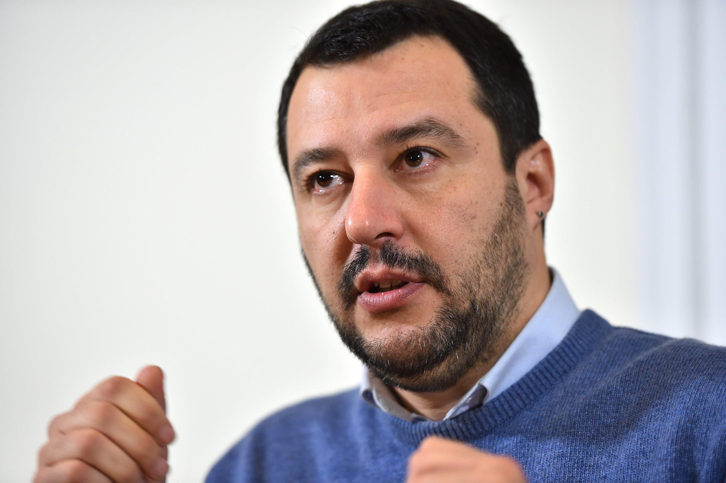 Lega Nords leader Matteo Salvini. Peter Dazeley/Getty
