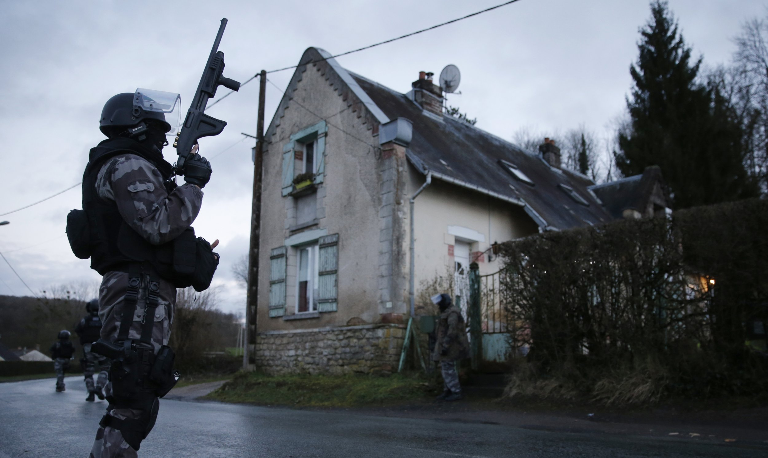 French Police Converge on Villages as Charlie Hebdo