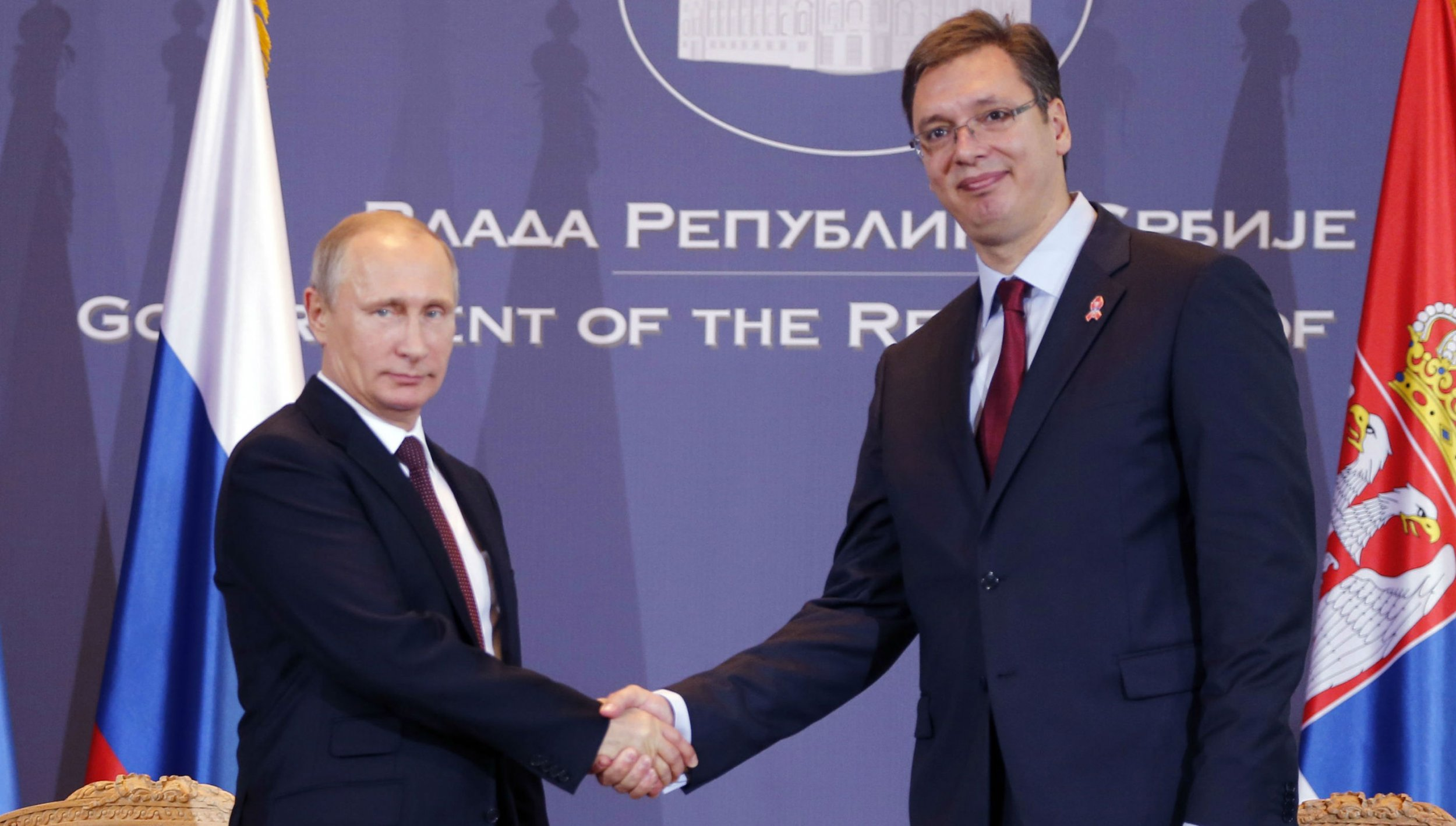 Putin handshake