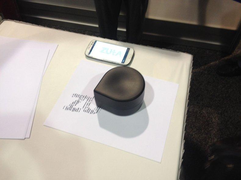 Zuta Labs small mobile printer.
