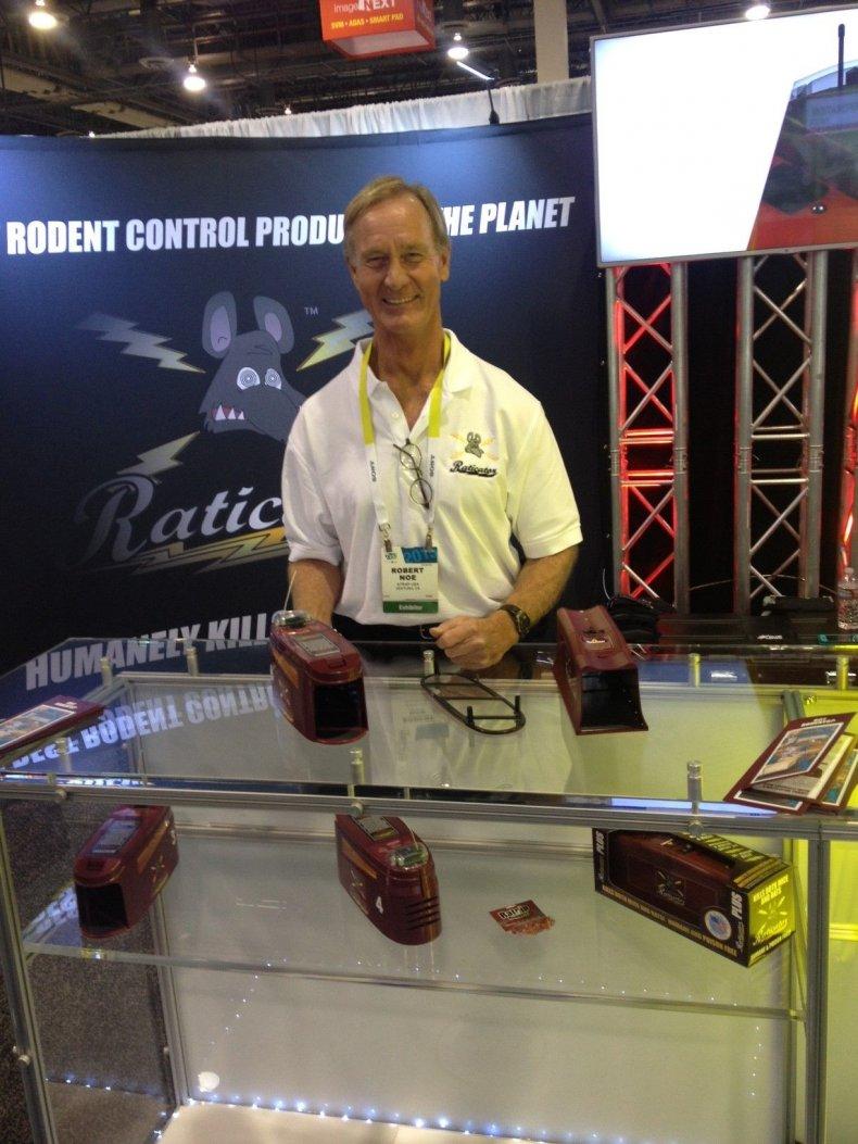 Robert Noe, the president of Raticator