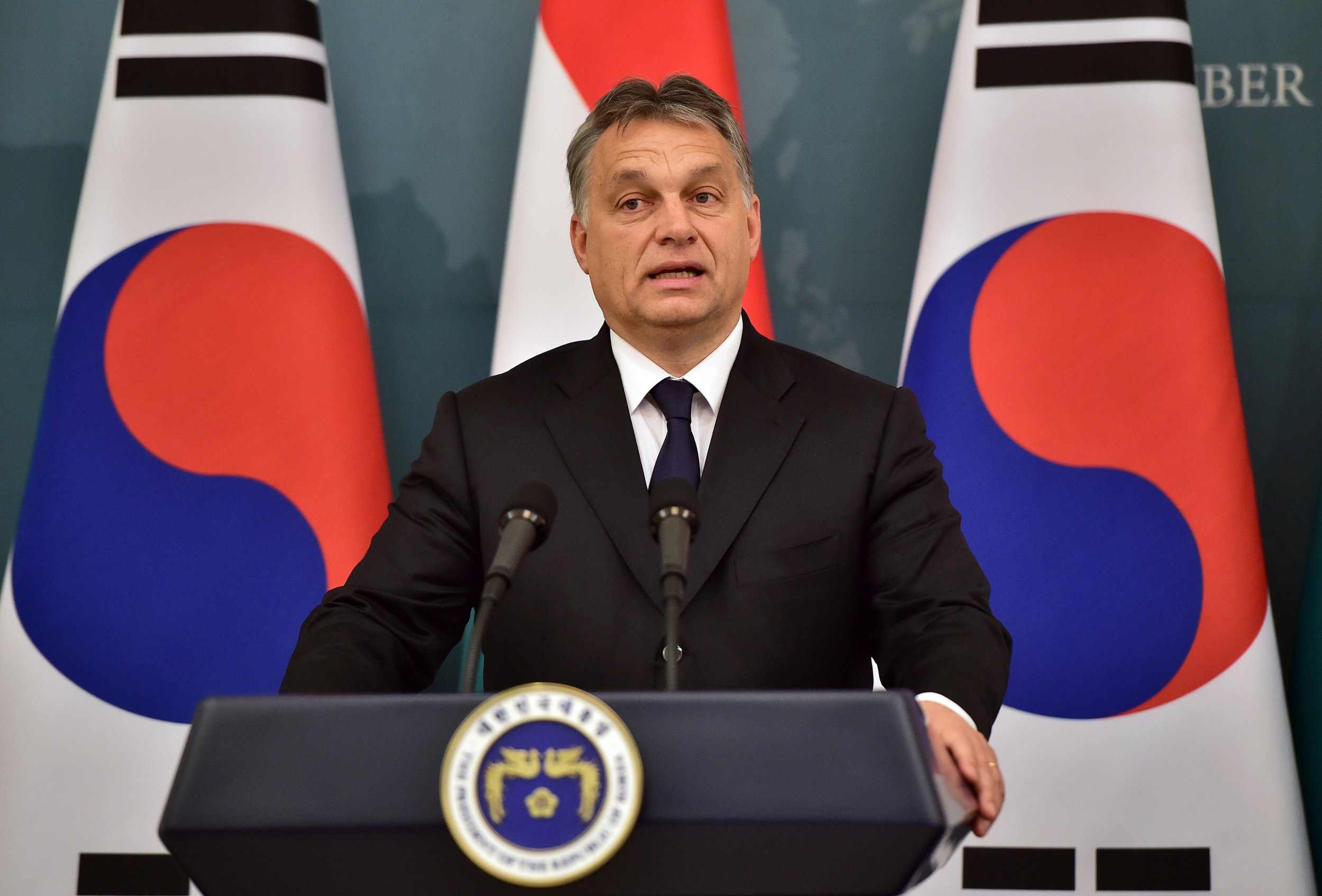 Hungary PM Orban Says Immigration a Threat and Must Be Stopped