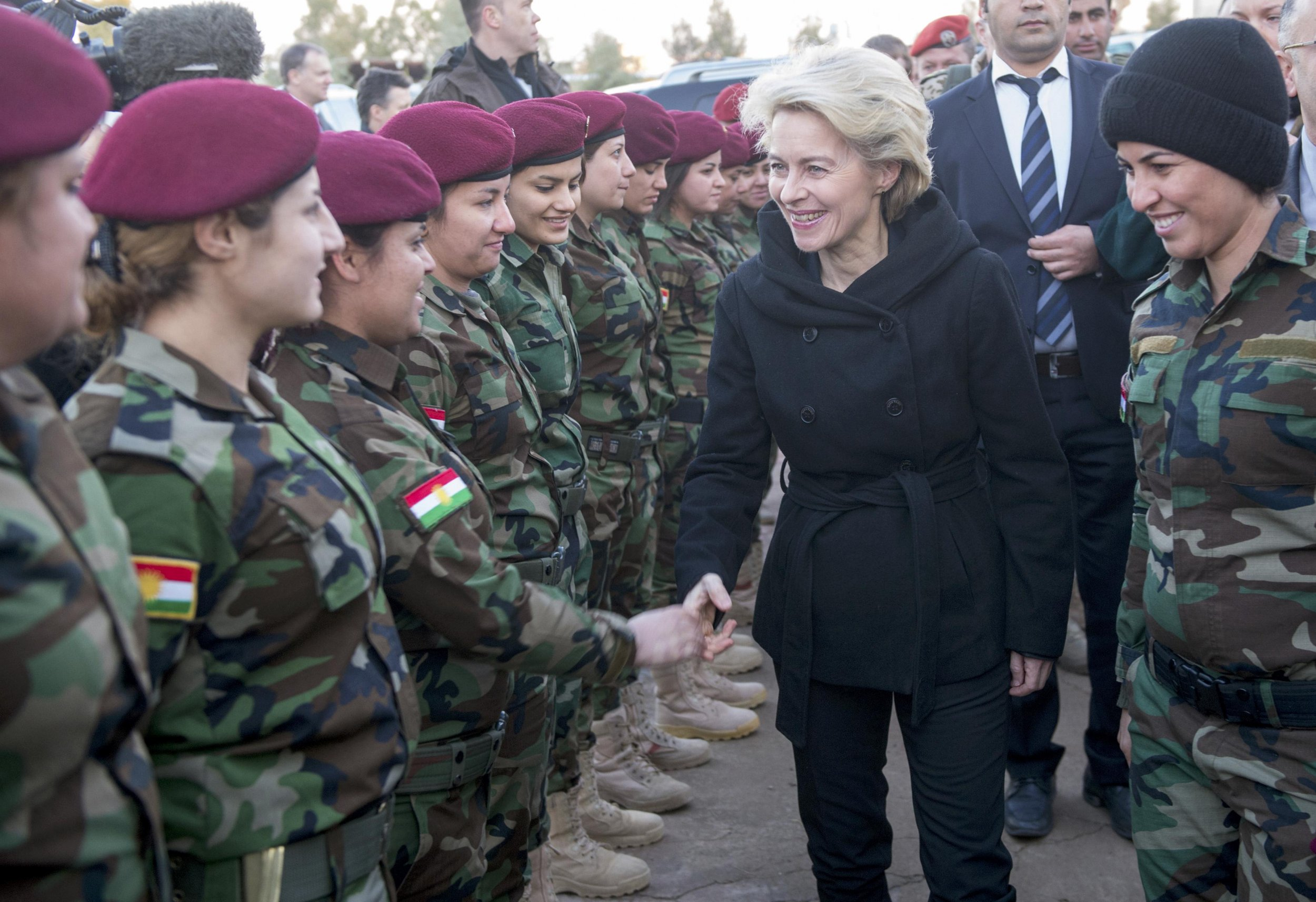 germany and sweden to send troops and increase aid to