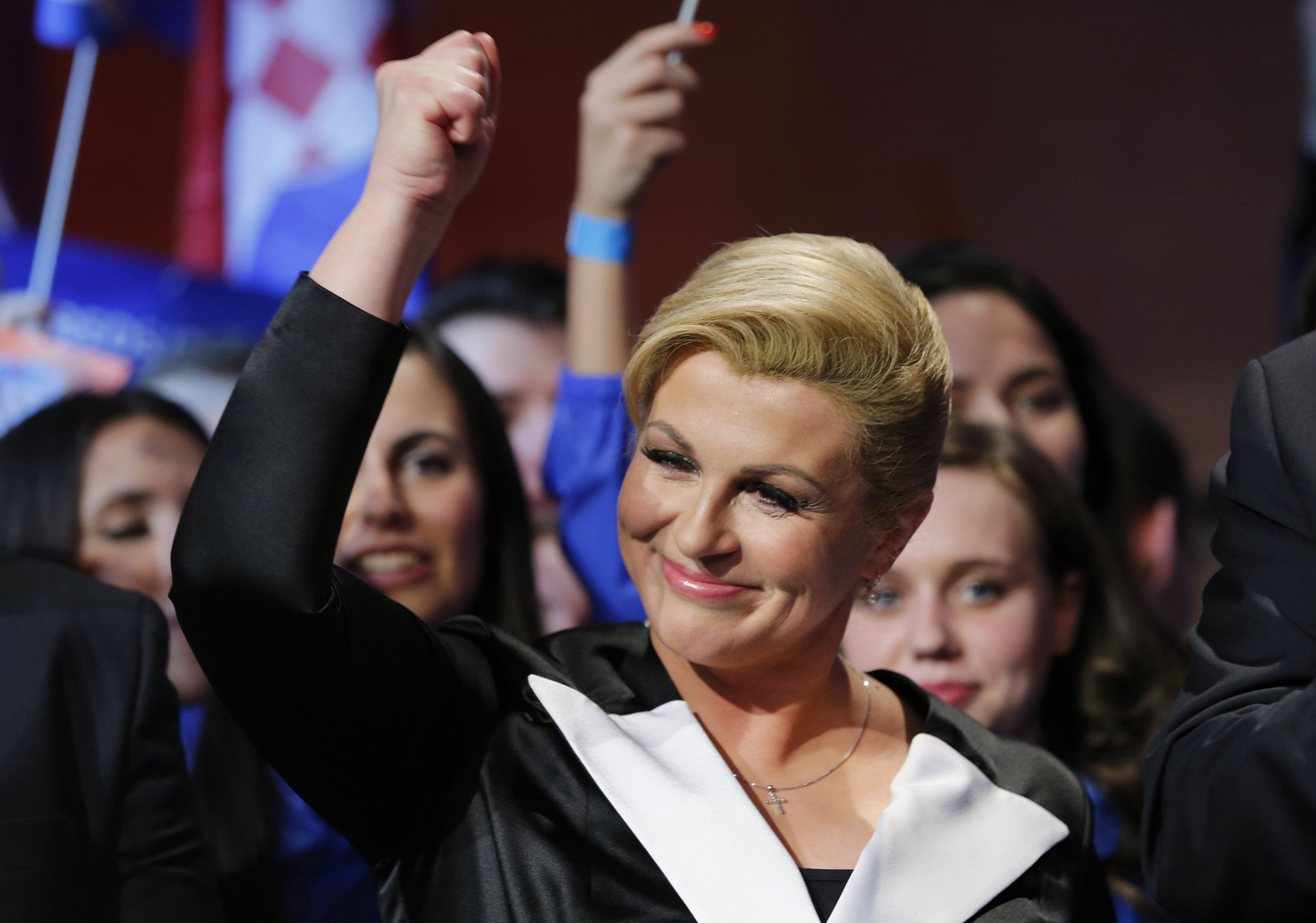 Croatia Elects Kolinda Grabar-Kitarovic, Country's First ...